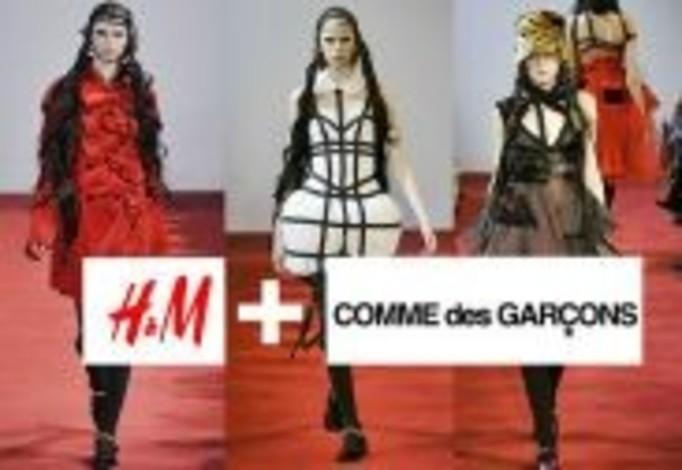 H&M tym razem z Comme des Garcons