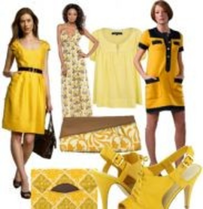 Żółty na swój sposób