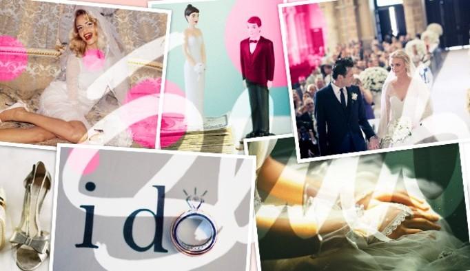 Najpiękniejsze śluby i suknie ślubne gwiazd