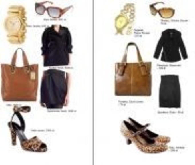 Rozwiązanie konkursu: Szukamy tańszych odpowiedników drogich ubrań