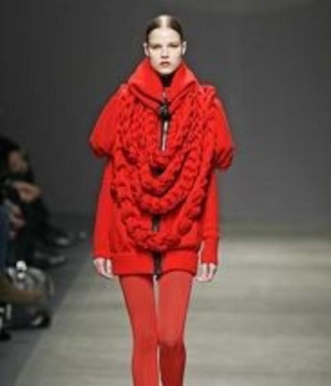 Sweter zamiast płaszcza