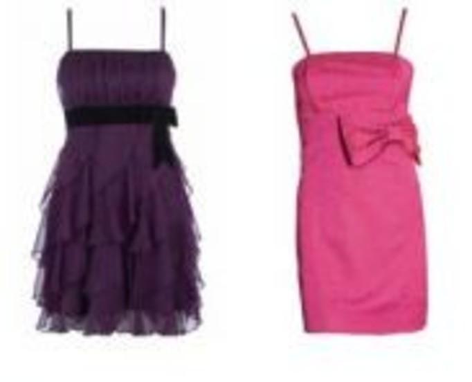 Kobiece sukienki z kokardami
