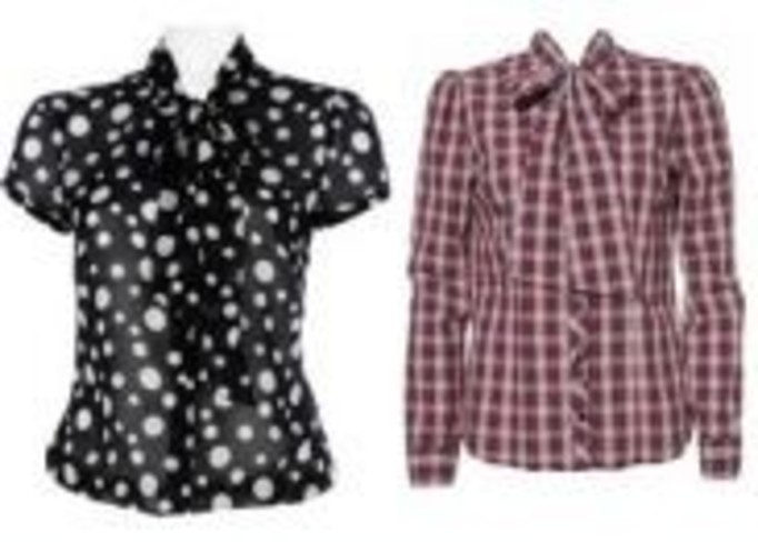Koszule zdobione pod szyją
