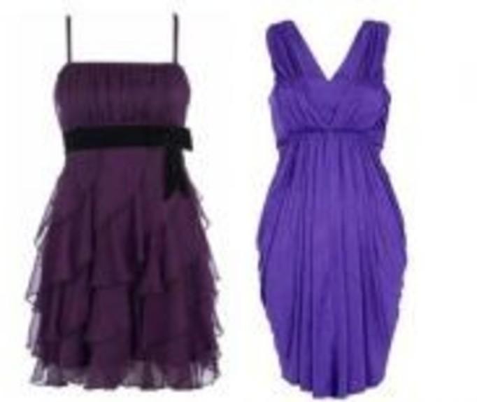 Fioletowe sukienki wieczorowe
