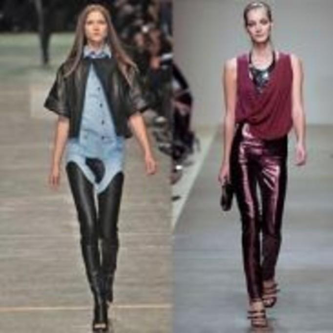Spodnie ze skaju - nietypowy trend na wiosnę