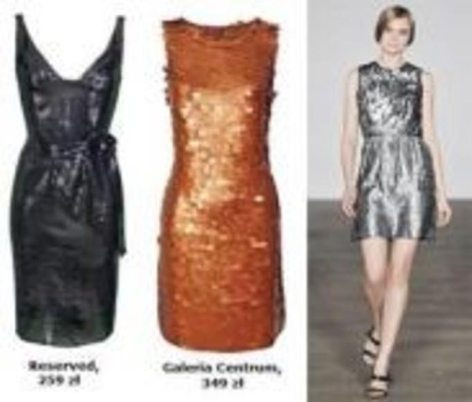 Sukienka - zbroja. Trend na imprezę!