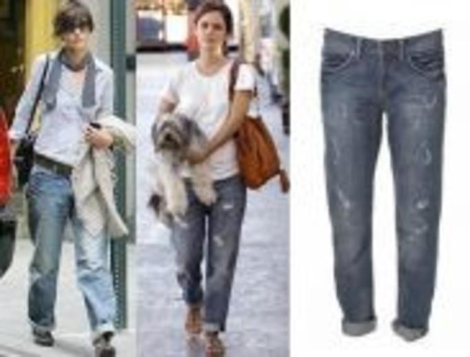 Boyfriend jeans - spodnie skradzione facetom