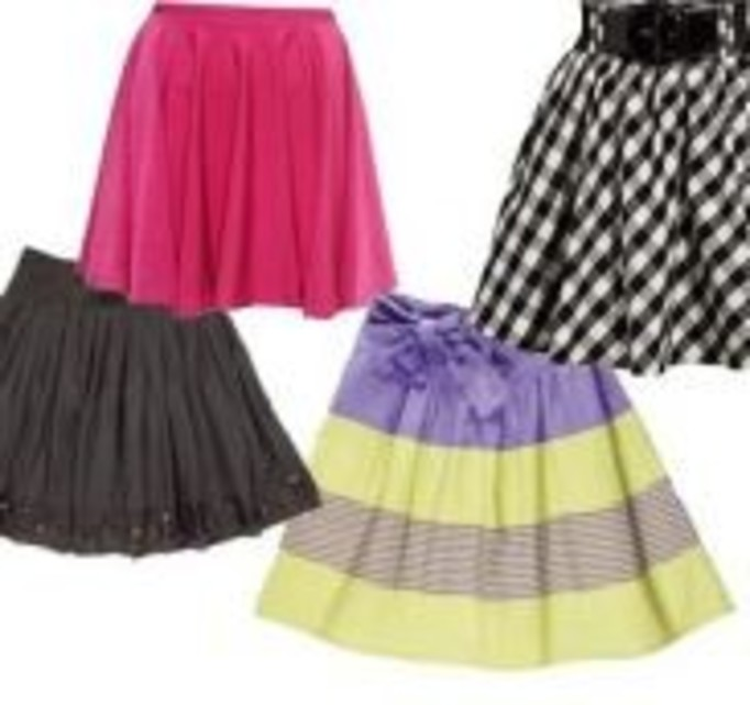 Rozkloszowane spódnice na wiosnę