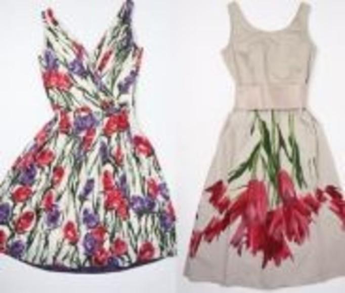 Kwieciste sukienki dla romantyczek
