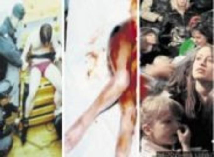 Pokazywali przedszkolakom brutalne zdjęcia!