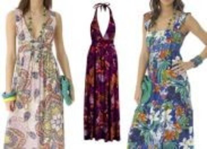 Letnie sukienki do kostek - 14 propozycji!