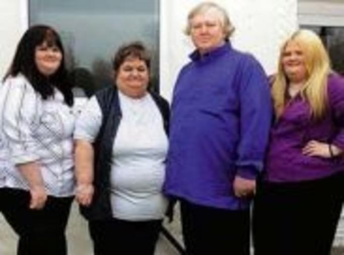 Czteroosobowa rodzina waży w sumie 527 kilo!
