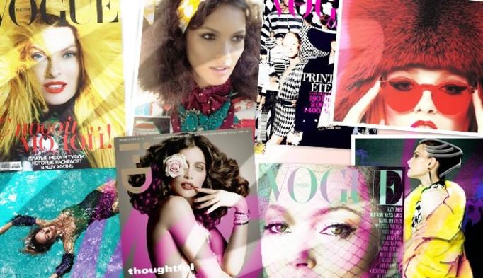 """Anja Rubik (i jej anorektyczne nogi) na okładce """"Vogue'a""""!"""