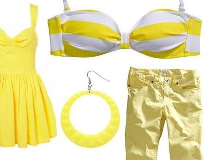 Żółty – najmodniejszy kolor na lato