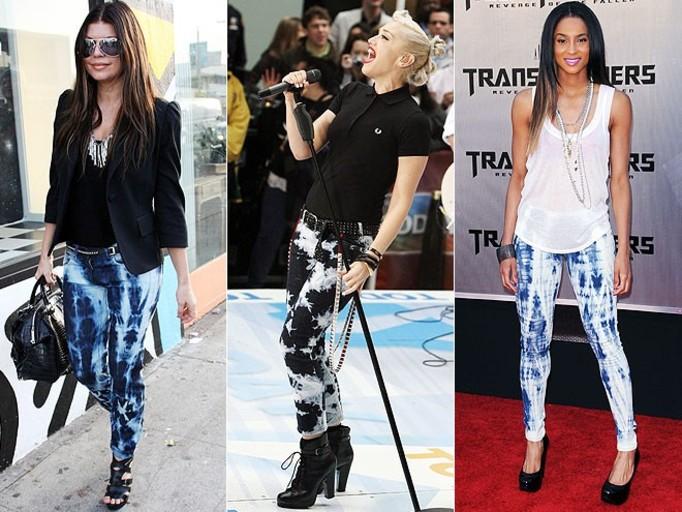 Dekatyzowane jeansy – ulubiony ciuch gwiazd!