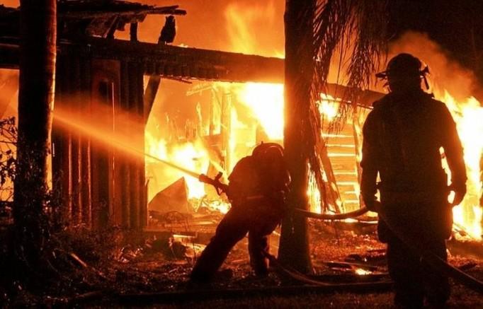 Podpalił dom... z głodu