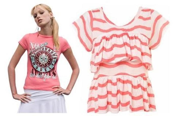 Najmodniejsze T-shirty na lato