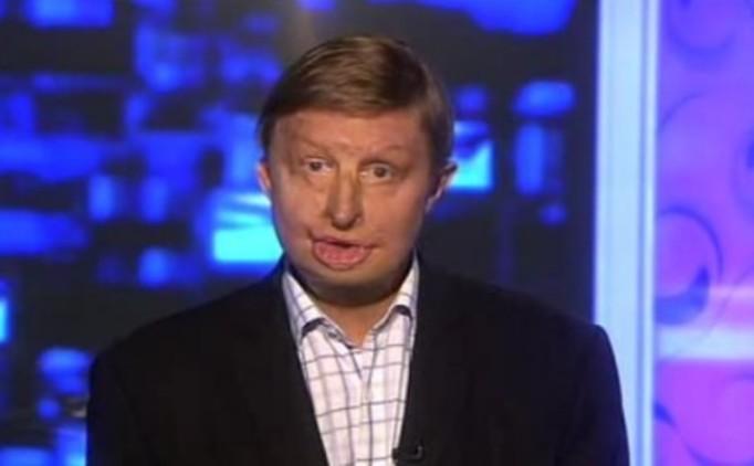 Prezenter telewizyjny ze spaloną  twarzą – VIDEO!