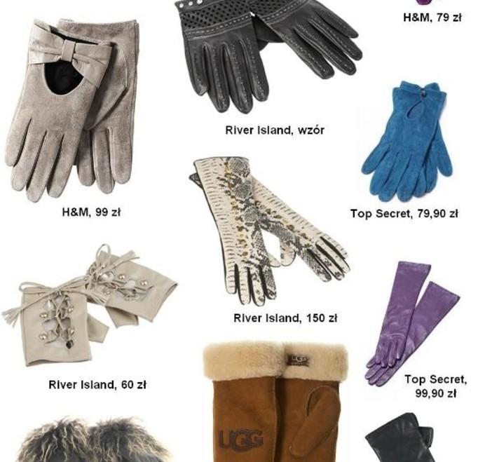 Skórzane rękawiczki nieprzemijająco na topie!