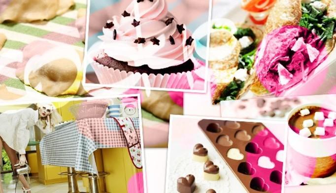 Wasza Kuchnia: Kolorowe ciasteczka z przepisu Doroty