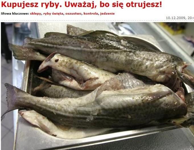 Uwaga, trujące ryby w polskich sklepach!