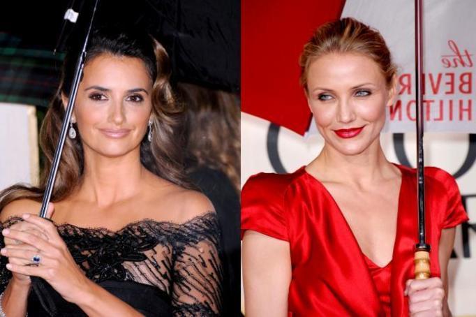 Hollywoodzkie makijaże: Cameron Diaz VS Penelope Cruz