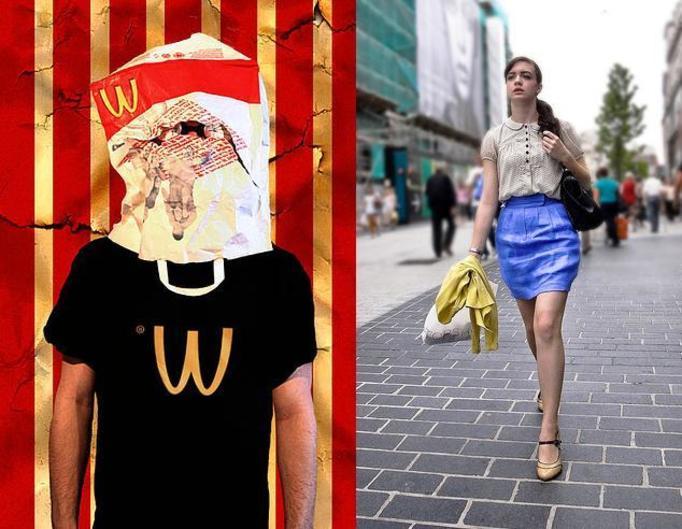 Mc Donald's, Street Fashion