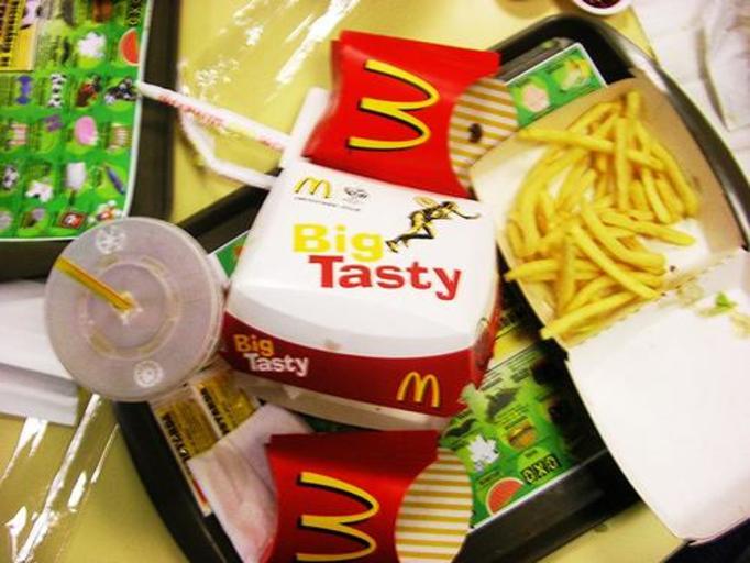 Mc Donald's, hamburger