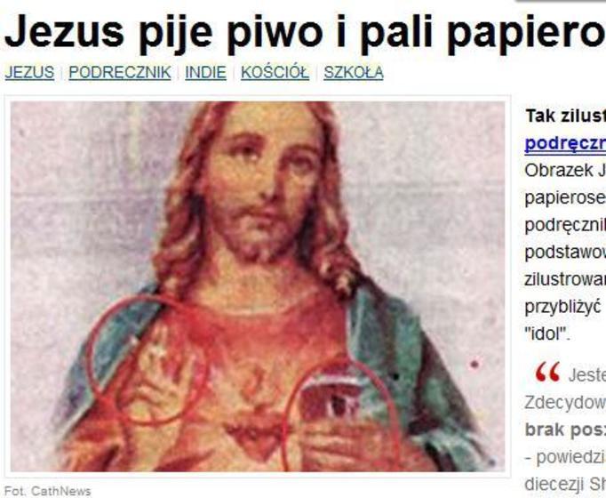 Jezus z papierosem