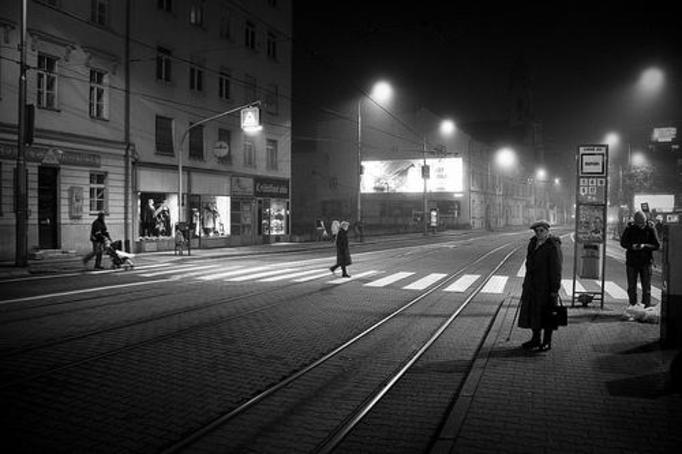 ciemna ulica