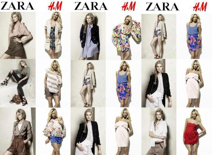 koleja Zara, kolekcja H&M