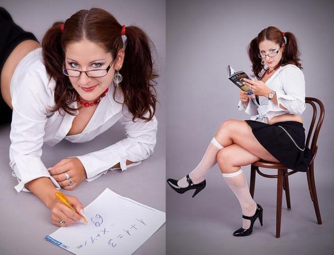 niegrzeczna nauczycielka