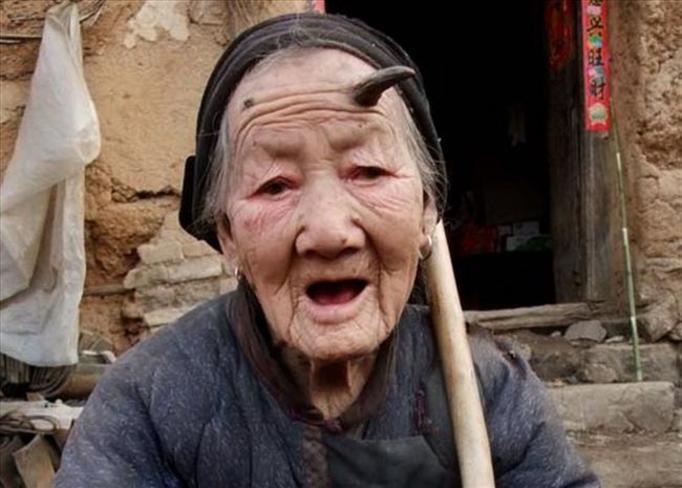 Chinka z rogami