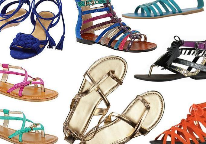 Płaskie buty