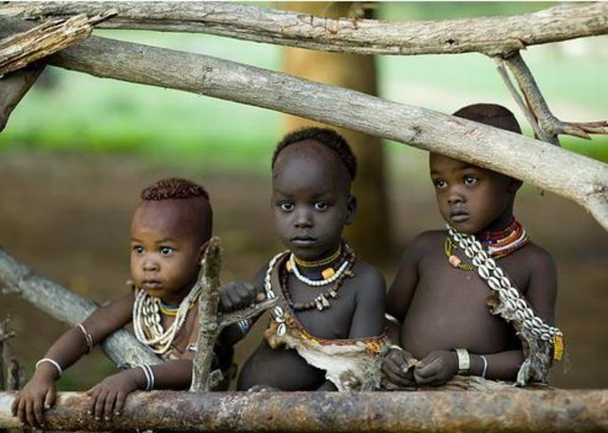 afrykańskie dzieci, murzyniątka
