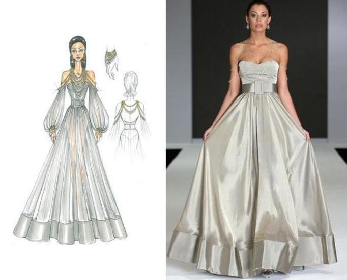 najdroższa suknia świata