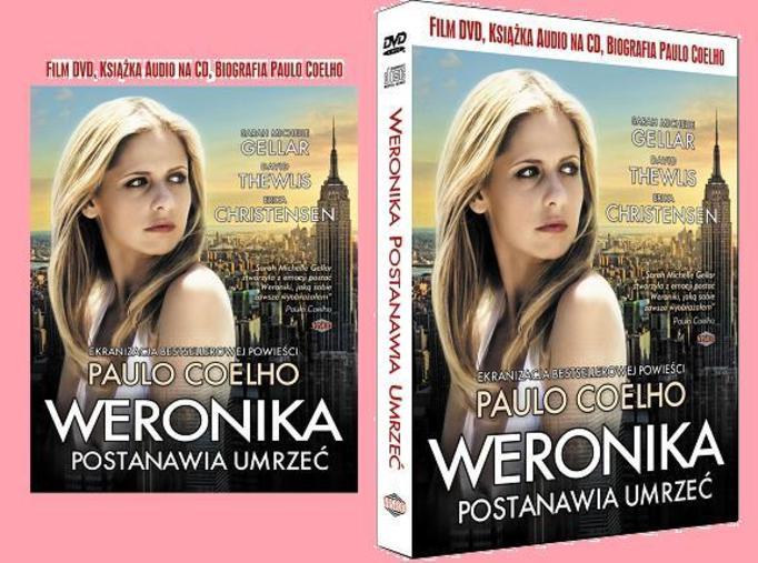 """Rozwiązanie konkursu : """"Weronika postanawia umrzeć""""  – wygraj DVD z ebookiem!"""