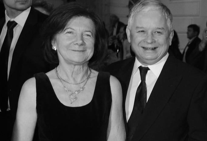 Lech i Maria Kaczyńscy