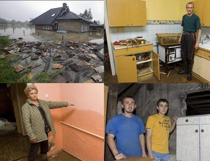 Polskie domy po powodzi – ZDJĘCIA!
