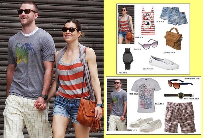Ubierzcie się jak Justin Timberlake i Jessica Biel!