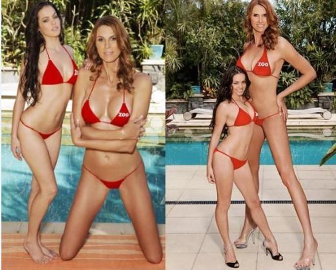 Najwyższa modelka bikini – ZDJĘCIA!