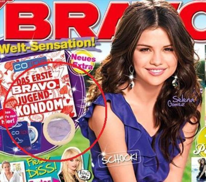 Dodają prezerwatywy do gazety dla nastolatków! W ROZMIARZE XS!