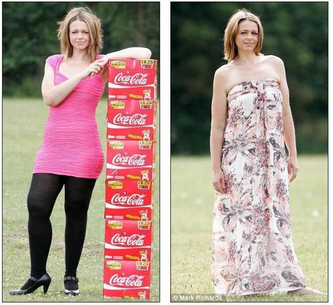 Piła 20 puszek coli dziennie, ważyła 120 kg!