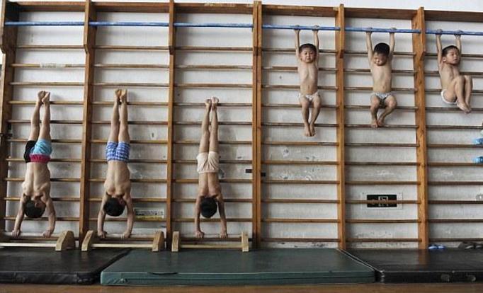 Mordercze treningi chińskich 4-latków! ZOBACZ ZDJĘCIA!