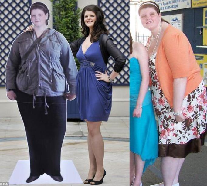 Ona schudła 7 rozmiarów!