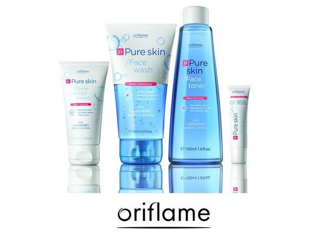 KONKURS: Wygraj zestaw kosmetyków Pure Skin Oriflame!