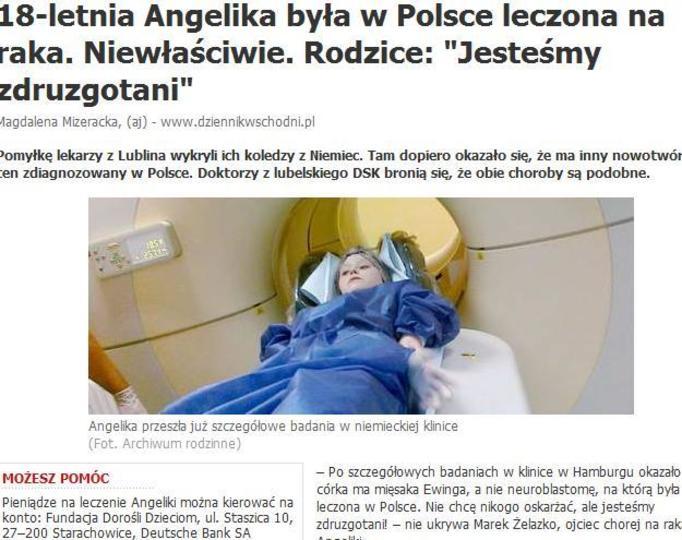 Leczyli ją na raka, którego nie miała! Kto jest winny?
