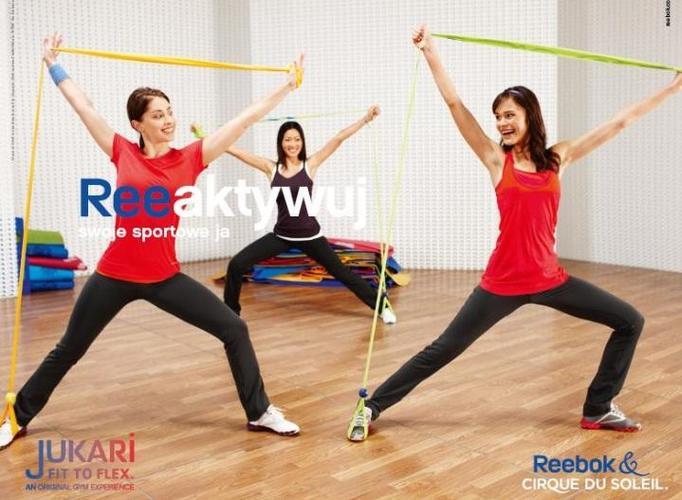 KONKURS: Wygraj strój do ćwiczeń Reebok, taśmę Jukari Fit to Flex i płytę z ćwiczeniami!