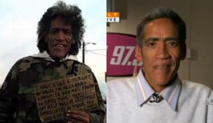 VIDEO NA DZIŚ: Bezdomny z radiowym głosem! Już robi karierę!