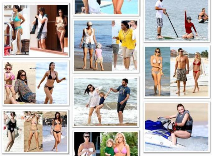 Gwiazdy w bikini: Zobacz aktualne zdjęcia roznegliżowanych celebrytek zrobione na plażach!